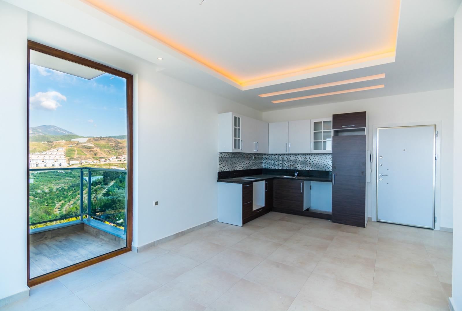 2+1 Квартира с шикарным панорамным видом на море и горы