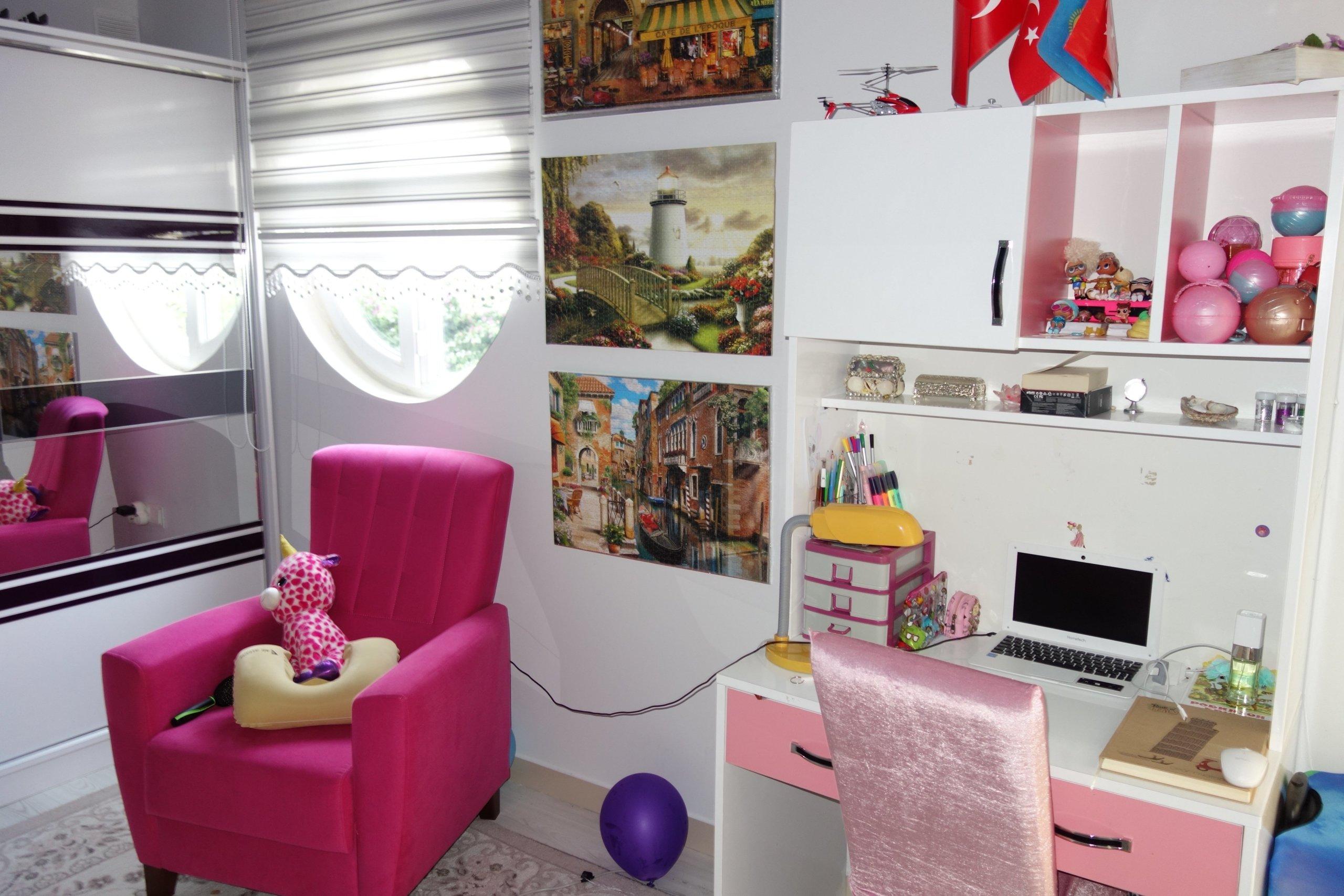1+1 Меблированная квартира в Махмутларе