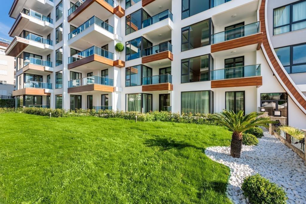 2+1 Квартира  на первой линии моря в новом районе Кестель