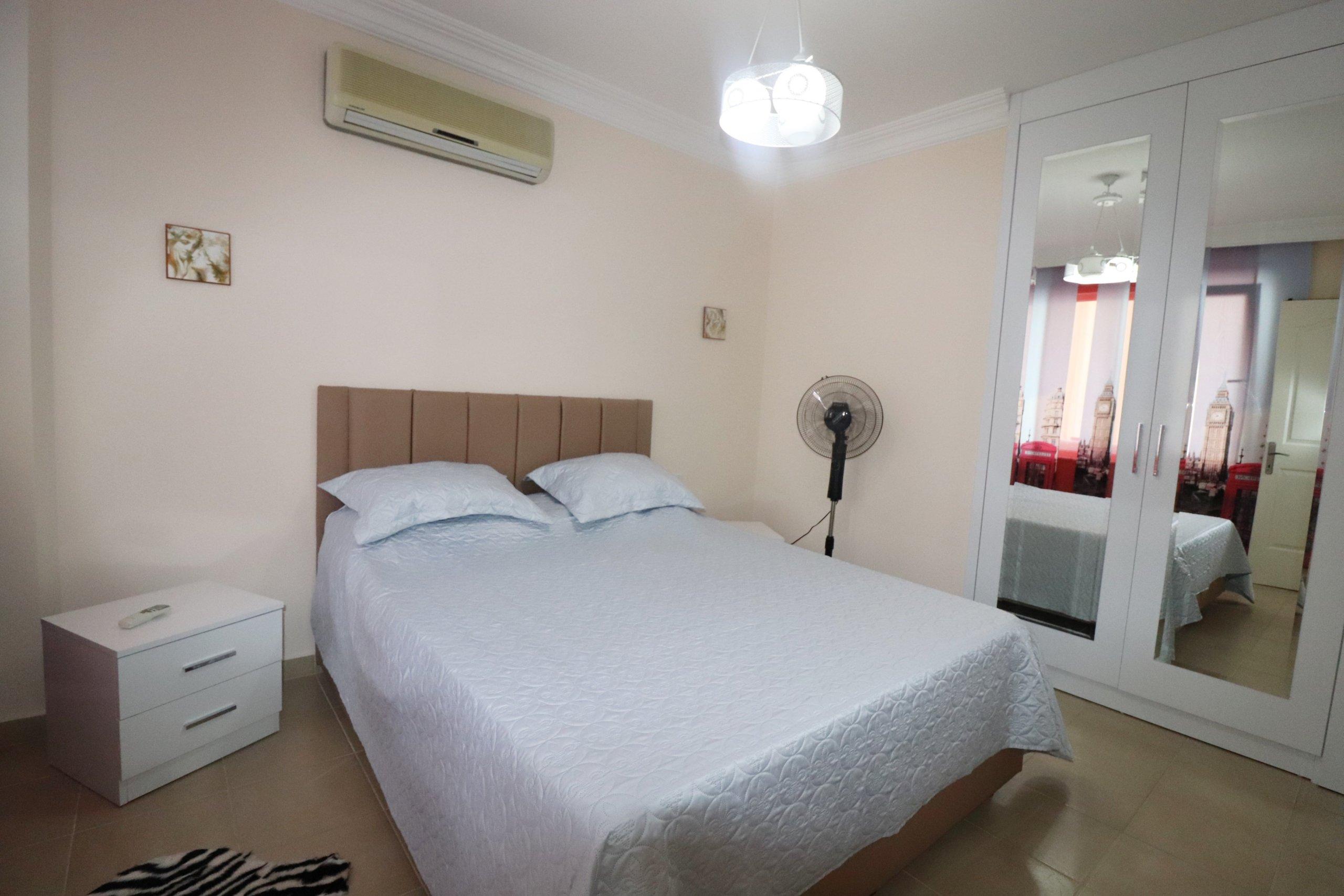 Двухкомнатная квартира для отдыха в самом центре города Алании