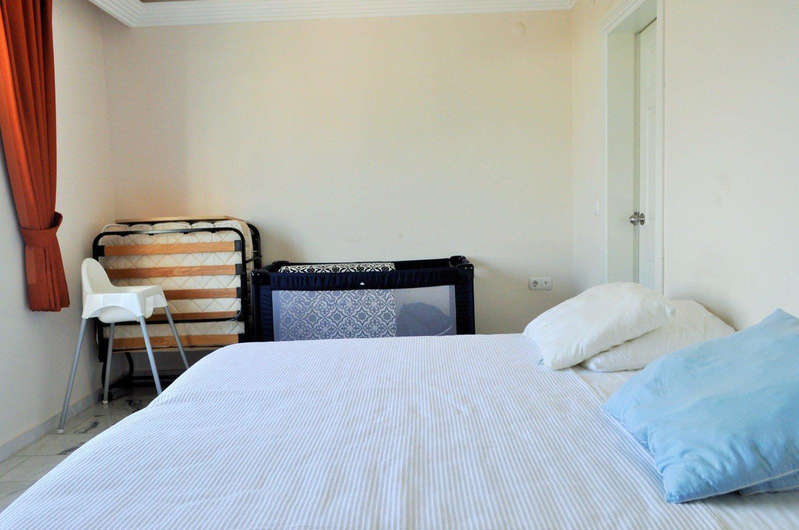 Меблированная трехкомнатная квартира с роскошным панорамным видом