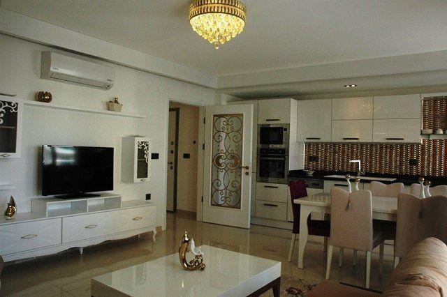 Стильная квартира 2+1 с красивым дизайном в центре города