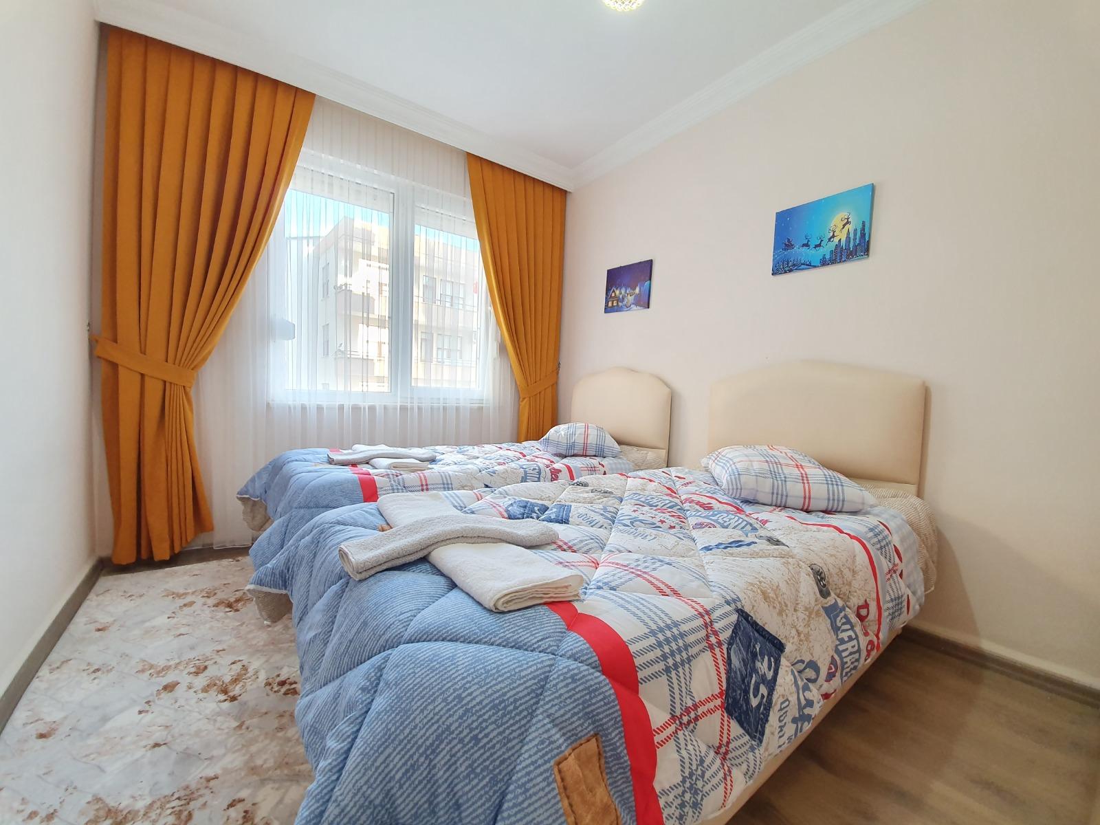 2+1 Меблированная квартира в Махмутларе