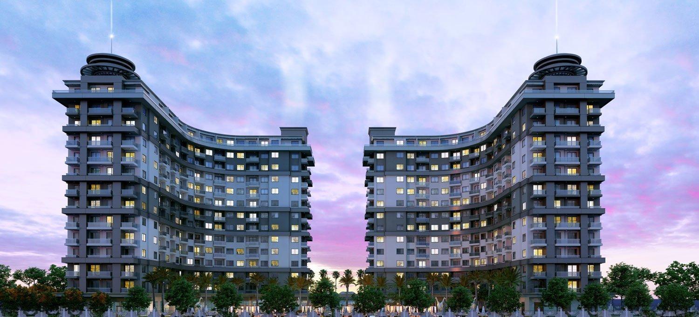 Квартиры в современном жилом комплексе комфорт-класса, с очень богатой инфраструктурой
