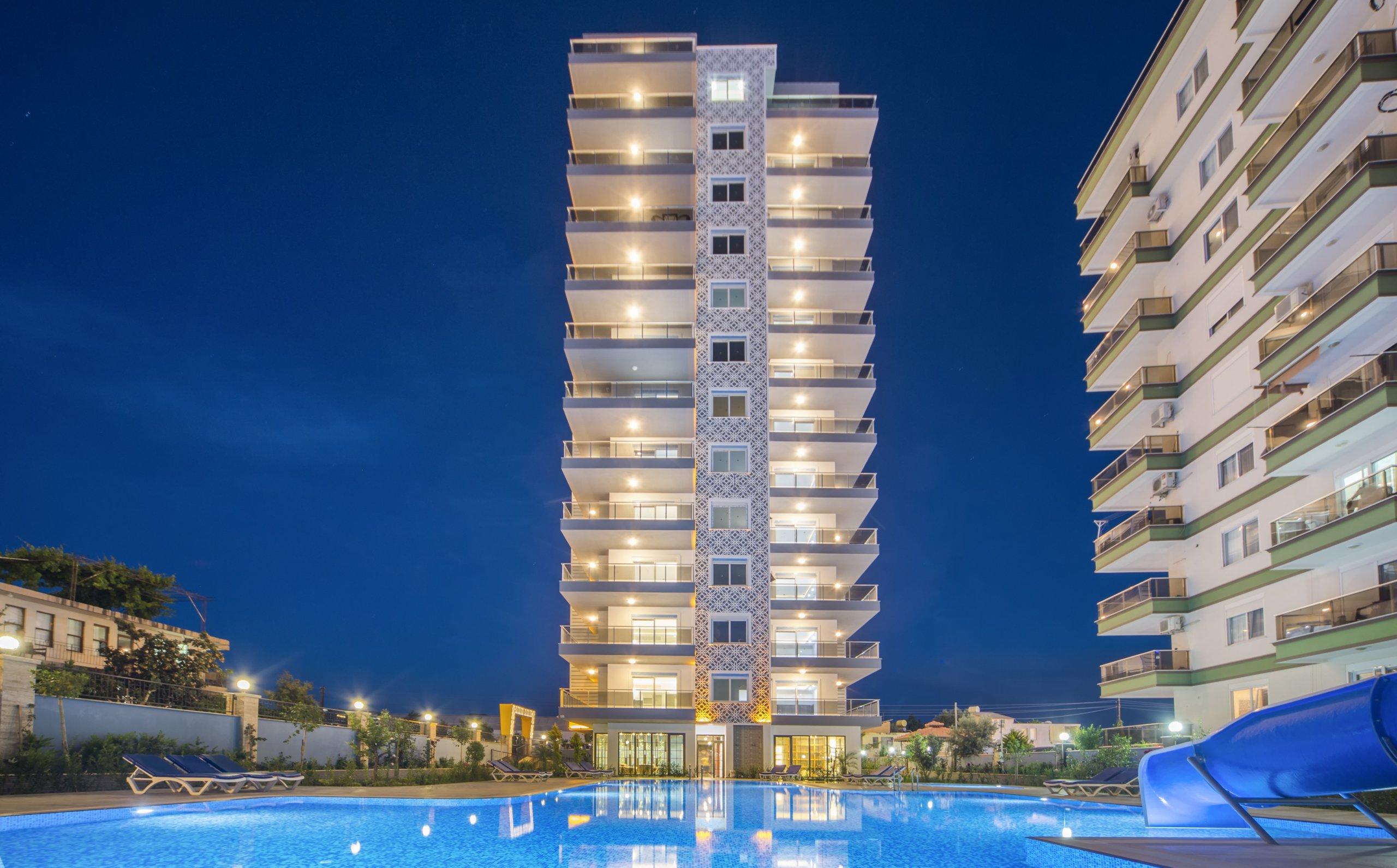 1+1 Квартира в прекрасном новом жилом комплексе